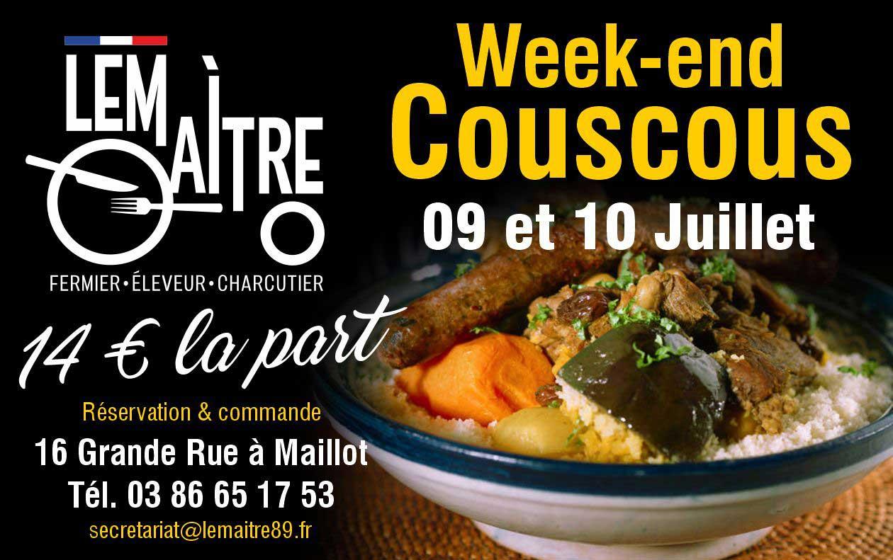 Weekend Couscous - Lemaitre